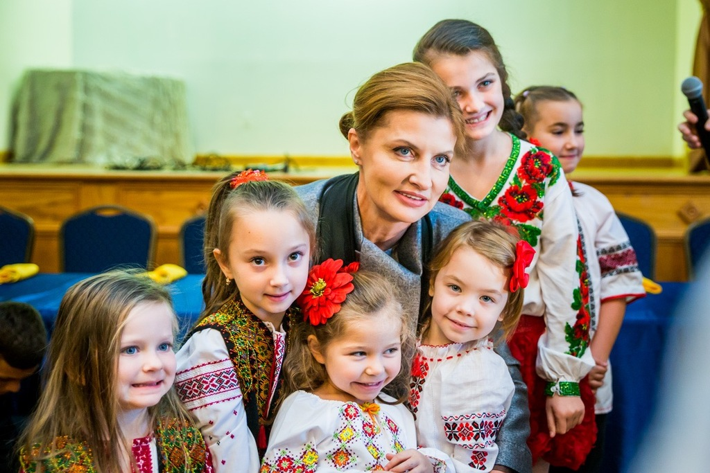 Ukraine First Lady Visits The 45